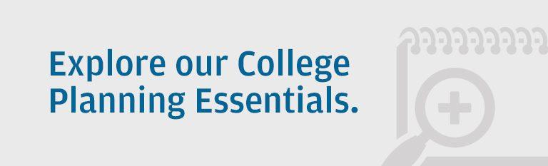 College planning essentials